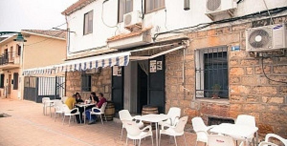 Bar Rafael Patones entrada